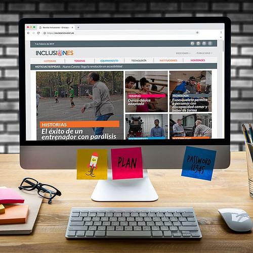 Revista Inclusiones - Creación de Sitios Web