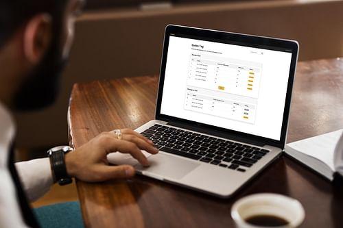 Web2Print Software PriSend - Webanwendung