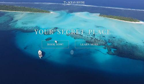 Web - Emailing : Ocean DIvine - Design & graphisme