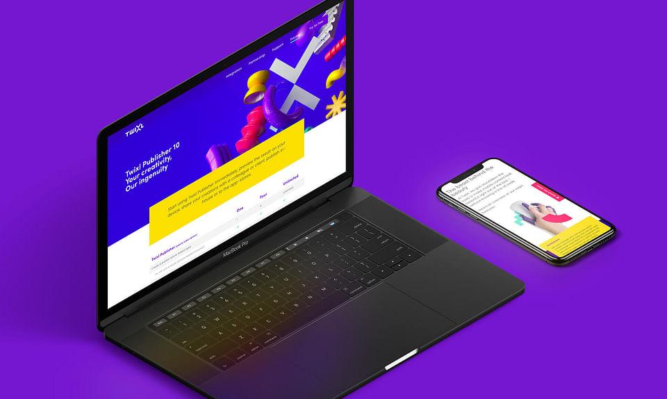 Exciting website voor Twixl
