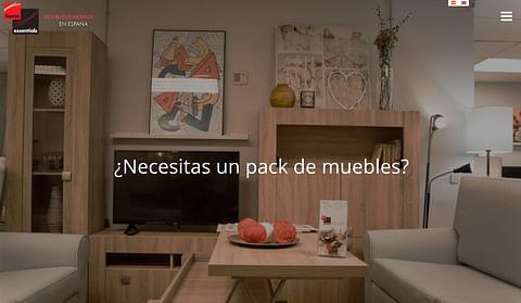 Desarrollo web Home Essentials