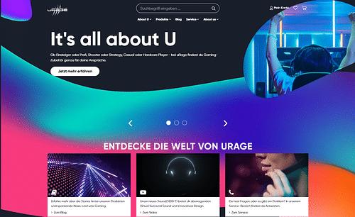 uRage - Neues Branding für hama Gaming-Equipment - Digitale Strategie