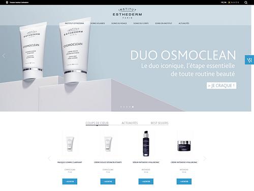 NAOS : Marketing digital des marques en Belgique - E-commerce