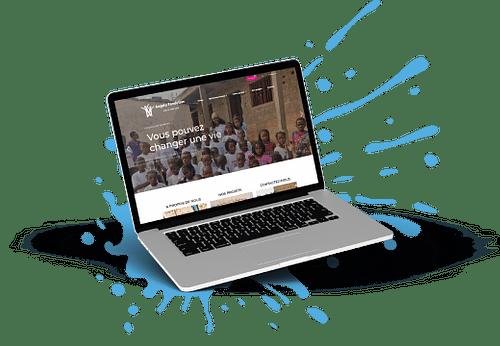 E-commerce pour une organisation humanitaire - E-commerce
