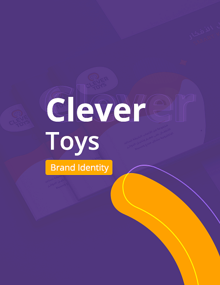 Clever Toys Brand Identity - Graphic Design