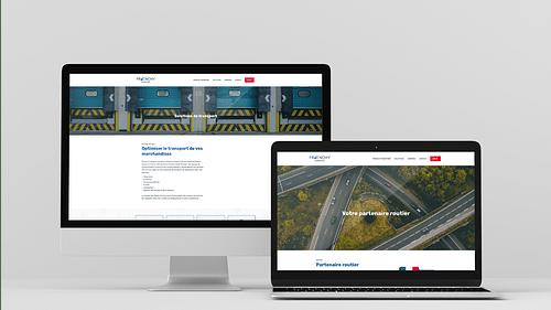 Frenchy Transport - Création de site internet