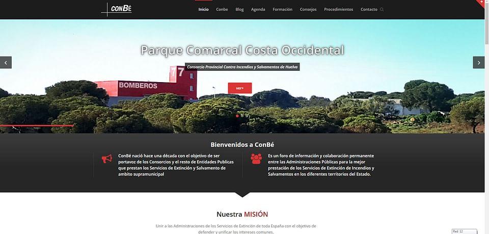Web y gestión de redes de ConBé