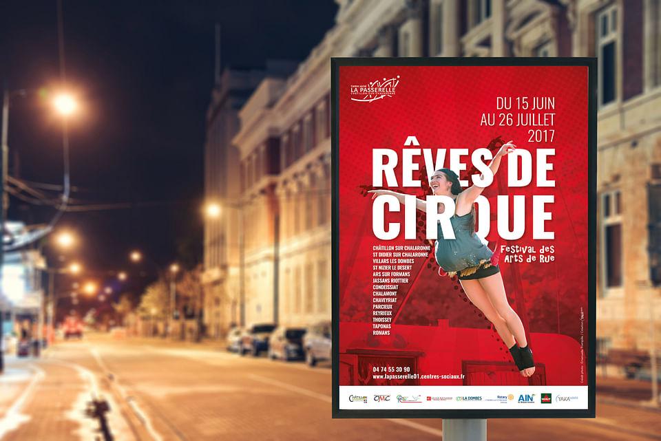 Festival Rêves de Cirque - Identité visuelle