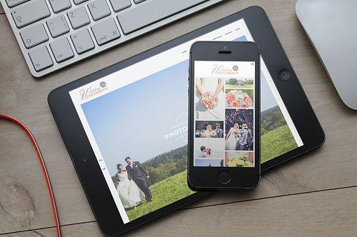 Simon Allen Wedding Photography - Website Creation