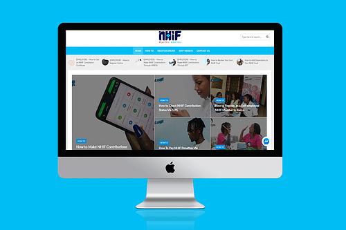 The NHIF Blog - Graphic Design