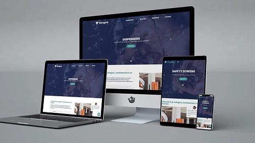 Viropro: Corporate Identity & Webshop - Ontwerp