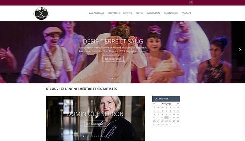 Site Internet | Infinitheatre.be - Website Creation