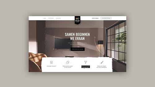 Levis Atelier - Akzo Nobel - Website Creatie