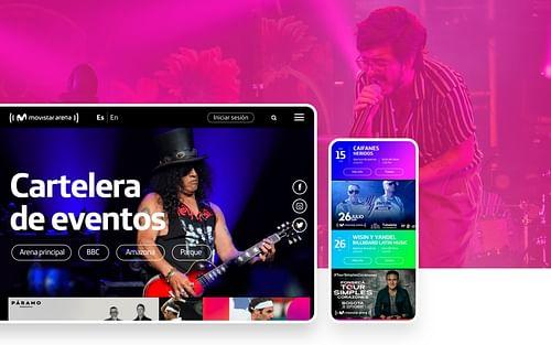 Movistar Arena - Creación de Sitios Web