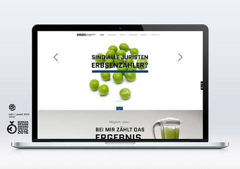 Webdesign für einen Rechtsanwalt – ohne Klischées
