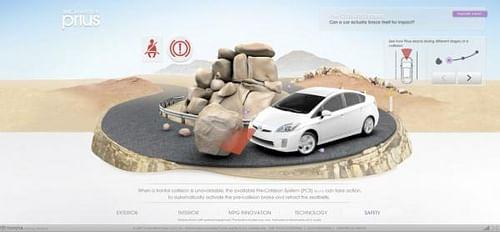 Prius experience - Advertising