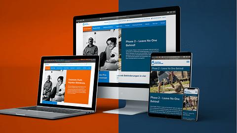 Barrierefreie Websites für Handicap International