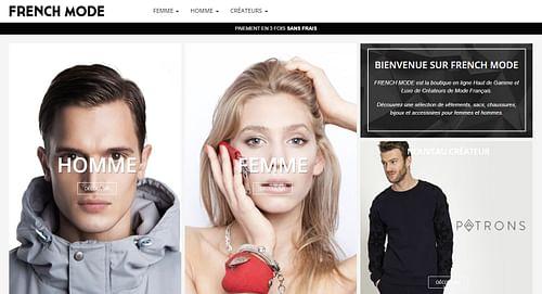 FRENCH MODE - Création de site internet
