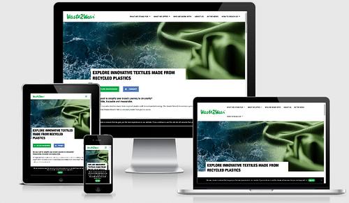 Waste2Wear Nieuwe Website - Website Creatie