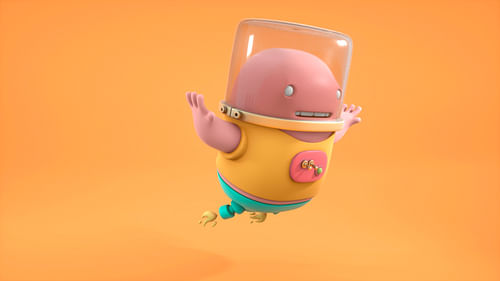 3D character illustration - Ontwerp