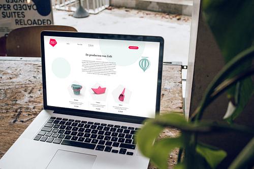 Zsilt online platform & webshop - E-commerce