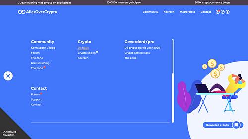 UI/UX and visual design for Dutch crypto platform - Web Applicatie