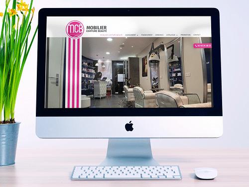 Site e-commerce Mobilier Coiffure Beauté - E-commerce