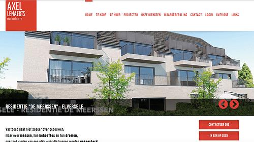 Online media audit voor Axel Lenaerts Makelaars - Digital Strategy