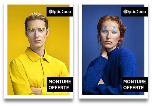 Optic 2000 Suisse - 20 ans - Image de marque & branding