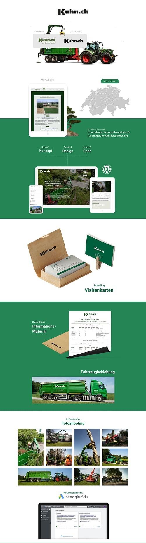 Kuhn - Website Creation