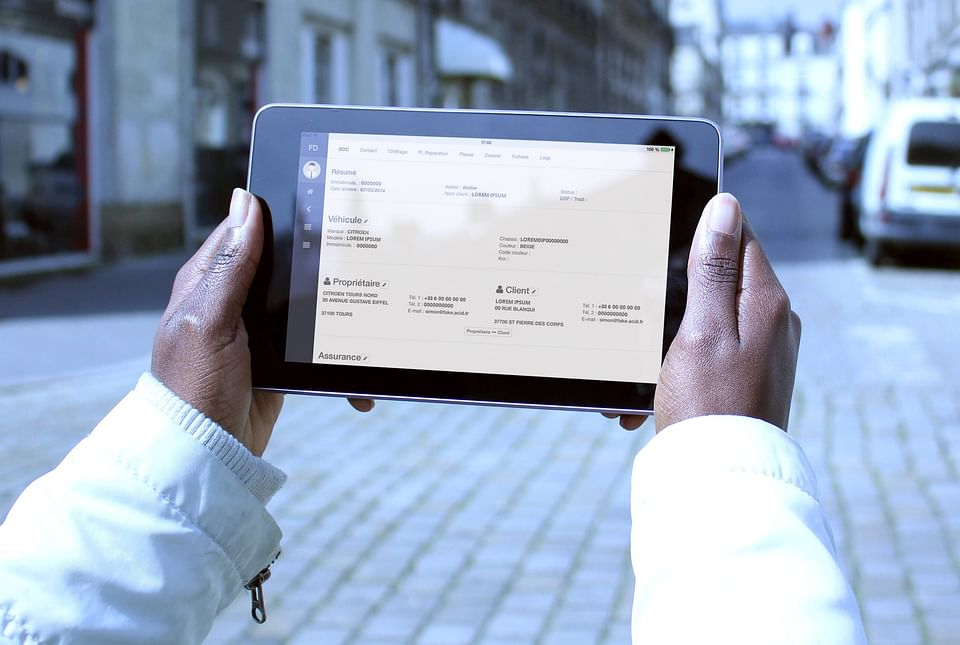 France Débosselage - Application web & mobile