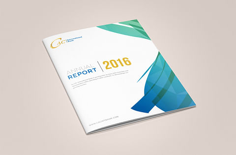 Annual Report Design for CAC Interbational Bank