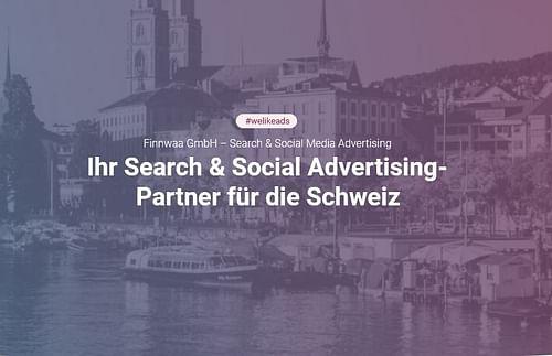 Search & Social Advertising für die Schweiz - Social Media