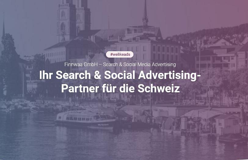 Search & Social Advertising für die Schweiz