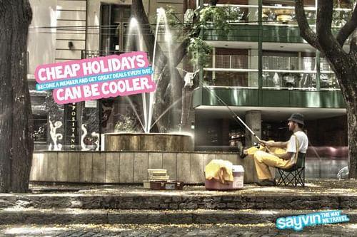 Fountain - Publicidad