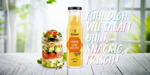 Launchkampagne für eine neue Salatdressing Marke - Markenbildung & Positionierung
