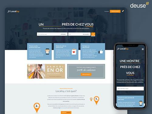 Plateforme e-commerce pour petits commerçants - Ergonomie (UX / UI)