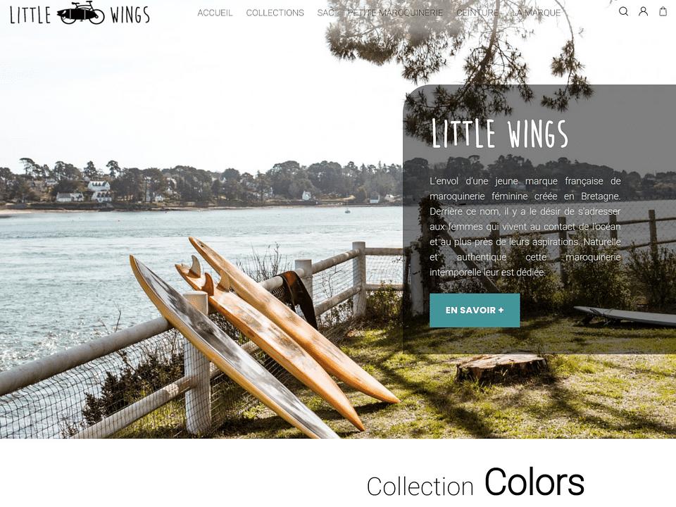 Site e-commerce sur-mesure Little Wings