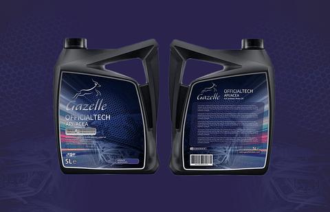 Gazelle Label Design