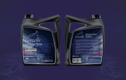 Gazelle Label Design - Graphic Design