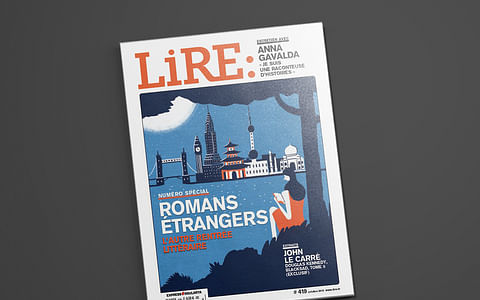 Une nouvelle couverture pour Lire