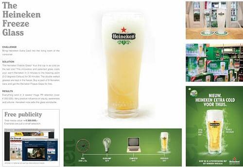 HEINEKEN FREEZE GLASS - Evenement
