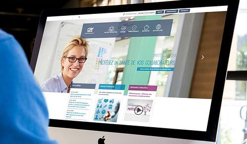 Un site institutionnel avec landing pages - Création de site internet