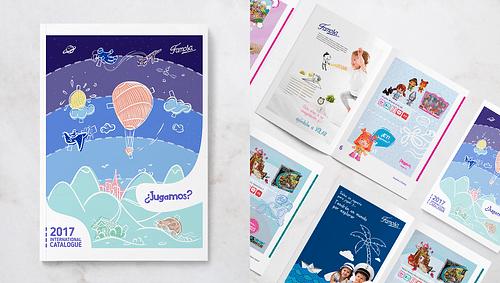 Juguetes Famosa · Diseño editorial - Estrategia digital