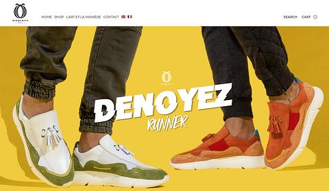 Création du site e-commerce Mirqurius Paris