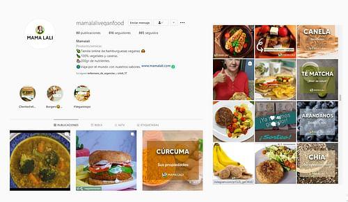 Creación de marca y social media para Mama Lali - Redes Sociales