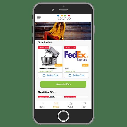 Lolyhub – Exchange & Redeem Loyalty Programs - E-commerce