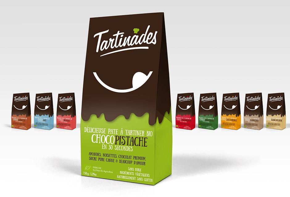 Packaging pour la marque Tartinades