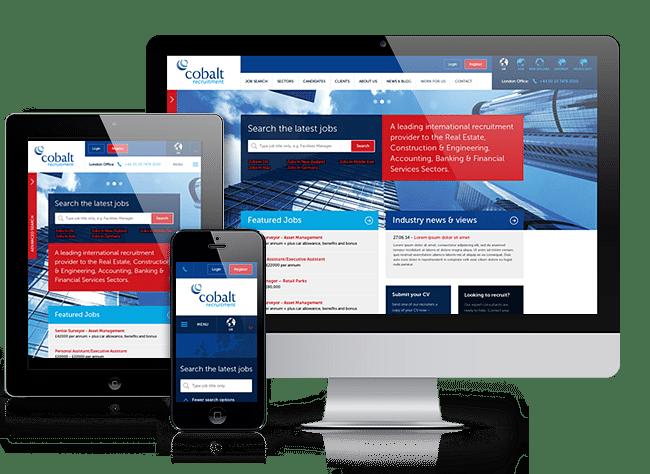 Responsive multi-language recruitment website