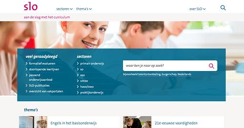 Website redesign en CMS - SLO - Digital Strategy